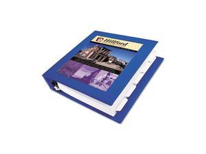 "Avery                                    Framed View Binder With One Touch Locking EZD Rings, 1-1/2"" Capacity, Royal Blue"