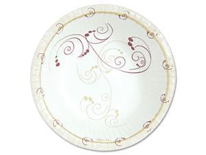 "SOLO Cup Company PL86-J8001PK Symphony Paper Dinnerware, Heavyweight Platter, 6"" x 8"", Tan, 125/Pack"