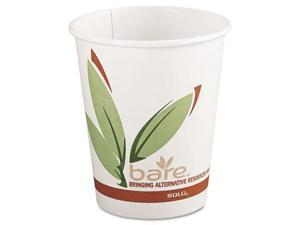 SOLO Cup Company Bare EcoForward Recycled Content PCF Hot Cups, 8 oz., 1000/Carton