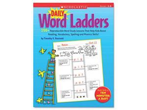 Daily Word Ladders, 176 pages, Grades 1-2