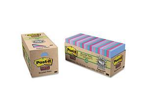 Post-it Notes Super Sticky               Super Sticky Pads Cabinet Pack, 3 x 3, 5 Tropic Breeze Colors, 24 70-Sheet Pads