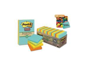 Post-it Notes Super Sticky               Farmer's Market Super Sticky Notes Cabinet Pack, 3 x 3, 24 70-Sheet Pads/Pack