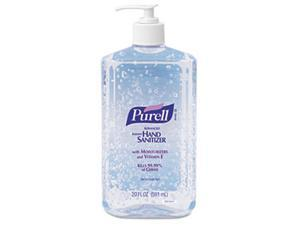 PURELL 3023-12EA Hand Sanitizer, 20-oz. Pump Bottle