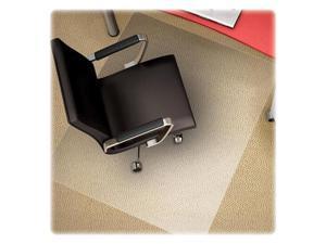 Deflect-o CM11442FPC Polycarbonate Chair Mat, 46w x 60l, Clear