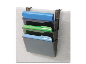 deflect-o                                3 Pocket File Partition Set with Brackets, Letter, Smoke