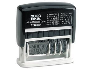 COSCO                                    2000 PLUS Micro Message Dater, Self-Inking