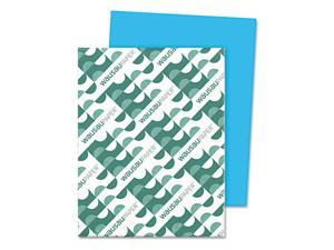 Wausau Paper Multipurpose Colored Paper, 11 x 17, Blue, 500 Sheets/Ream