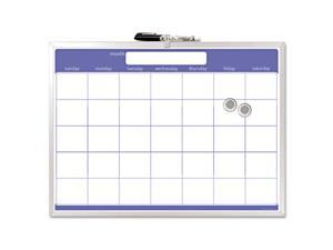 The Board Dudes                          Magnetic Dry Erase Board, Monthly Planner, 23 x 17, Aluminum Frame