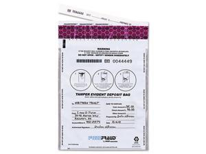MMF Industries 236210306 FREEZFraud Bags, 9 x 12, White, 100/Box