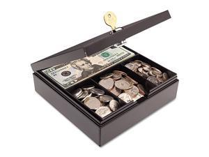 STEELMASTER by MMF Industries 227107004 Heavy Duty Steel Drawer Safe, Key Lock, Black