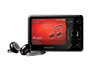 "Creative ZEN 2.5"" Black 4GB MP3 / MP4 Player"