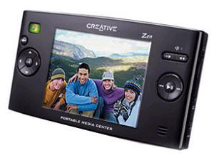 "Creative 3.8"" Black 20GB MP3 / MP4 Player 70PF095000000"