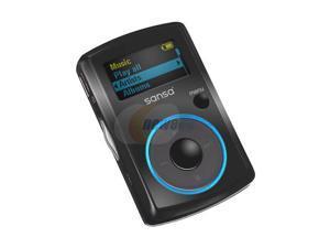 "SanDisk Sansa Clip 1.0"" Black 1GB MP3 Player"