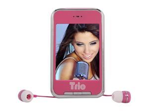 "Mach Speed 2.8"" Pink 4GB Media Player Trio Touch 4"