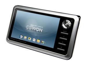 """COWON A3 4"""" Silver 60GB MP3 / MP4 Player"""
