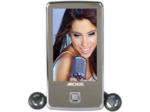 "ARCHOS 30c Vision 3"" 4 GB Touchscreen Multimedia Player w/ FM Radio - Black (501717)"