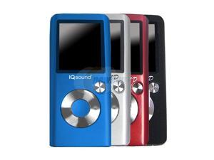 "SUPERSONIC 1.8"" Red 2GB MP3 / MP4 Player IQ-2600RED"