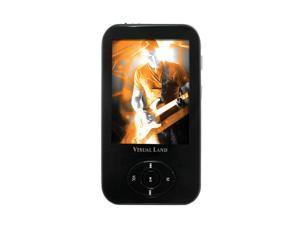 "Visual Land 2.4"" Black 4GB MP3 / MP4 Player ME-964"