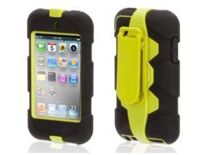 Griffin Black/ Citron Survivor Case + Belt Clip for iPod touch (5th gen.)   Extreme-duty case