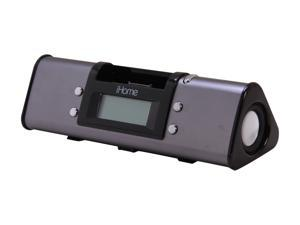 iHome Portable Stereo Alarm Clock with iPod Dock iH16