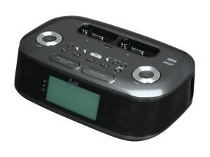iLuv - Hi-Fi Dual Alarm Clock Radio w/ NOAA + SAME Weather Hazard Alert for iPod / iPhone (iMM183)