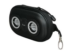 iLuv - Portable Amplified Stereo Speaker Case (iSP110) - BLACK