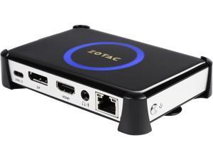 ZOTAC ZBOX pico PI331 Plus Mini PC, ZBOX-PI331-P-U, Intel Atom x5-Z8500 quad-core CPU 4GB Memory 64GB eMMC Storage Fanless Passively Cooled Silent Performance Aluminum Body Ultra Compact No OS