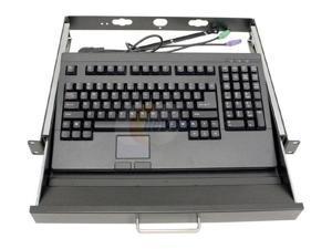 iStarUSA TC-A100B Black 1U Rackmount Rackmount Case