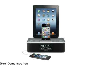 iHome Triple Charge Dual Alarm Stereo FM Clock Radio Color Gunmetal iD99GZC
