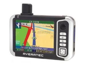 "AVERATEC 3.5"" Handheld GPS Receiver"