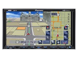"""Pioneer 7"""" LCD 30GB HDD DVD & Navigation system Model AVIC-Z3"""