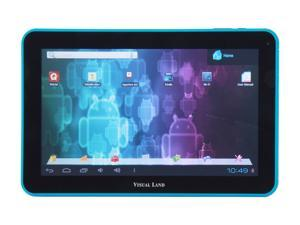 "Visual Land ME-110-16GB-BLU 16GB 10.0"" Tablet, Blue"