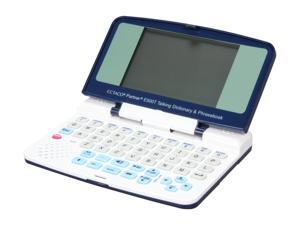 ECTACO Partner E500T English-Spanish Talking Electronic Dictionary and Audio PhraseBook
