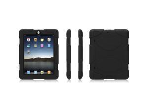 Griffin GB35108 Survivor Military-duty Case with Stand for iPad 2 & The New iPad Black