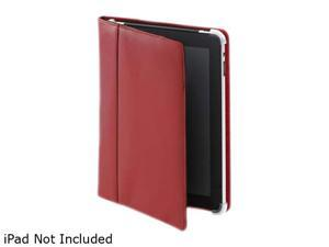 Cyber Acoustics IC-1000RD Leather iPad Cover / Case Red