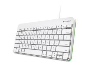 Logitech 920-005845 Logitech Wired Keyboard for iPad White/Green