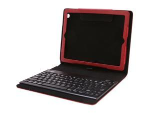 Kensington Red KeyFolio Pro 2 Removable Bluetooth Keyboard for New iPad & iPad 2 Model K39638US