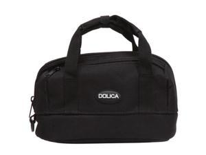 DOLICA GS-250 Black Nylon Zippered GPS Bag with Plenty of Storage Space