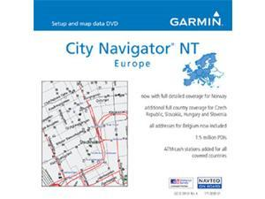 GARMIN 010-10680-50 microSD/SD data card, City Navigator Europe NT