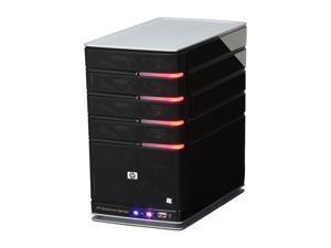 HP MediaSmart EX475, Windows Home Server w/ AMD Sempron 1.8GHz 512MB DDR2 1TB HDD AMD 1.8 GHZ 64-bit Sempron processor 512MB ...