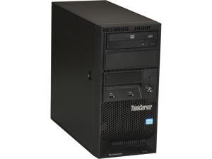 Lenovo ThinkServer TS130 Tower Server System Intel Xeon E3-1225V2 3.2GHz 4C/4T 4GB Operating System None 110568U