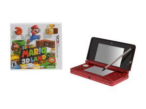 Nintendo 3DS Flame Red with Super Mario 3D Land