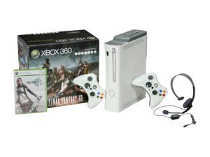 Microsoft Final Fantasy XIII Special Edition Xbox 360 Bundle 250 GB Hard Drive White