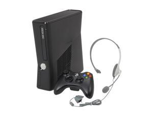 Microsoft Xbox 360 Slim 4GB internal flash memory Black