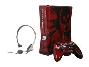 Microsoft Xbox 360 Gear of War 3 Special Edition 320 GB Hard Drive Red