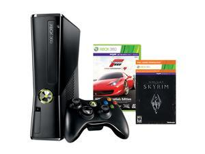 Microsoft XBOX 360 Holiday Bundle w/Skyrim & Forza 4 250 GB Hard Drive
