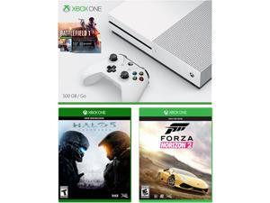 Xbox One S 500 GB Console - Battlefield 1 Bundle with 2 Additional Games