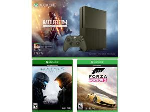 Xbox One S 1 TB Console - Battlefield 1 Special Edition Bundle with 2 Games