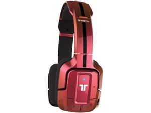 TRITTON Swarm Wireless Mobile Headset with Bluetooth Technology for Android, iOS, Smartphones, Tablets, PC, Mac, and Gaming Consoles - Flip Pink
