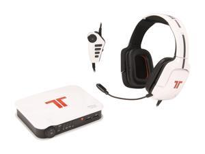 TRITTON Pro+ 5.1 Surround Gaming Headset for PS4, PS3, and X360 - White